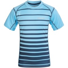 Marmot Cyclone T-Shirt - UPF 50, Short Sleeve (For Little and Big Boys) in Light Blue - Closeouts