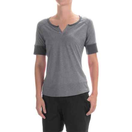 Marmot Cynthia Shirt - UPF 20, Short Sleeve (For Women) in Dark Steel - Closeouts
