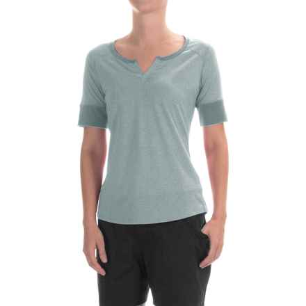 Marmot Cynthia Shirt - UPF 20, Short Sleeve (For Women) in Grey Storm - Closeouts