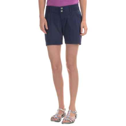 Marmot Dakota Shorts - UPF 30 (For Women) in Arctic Navy - Closeouts