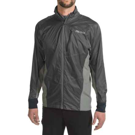 Marmot Dash Hybrid Jacket (For Men) in Black/Slate Grey - Closeouts