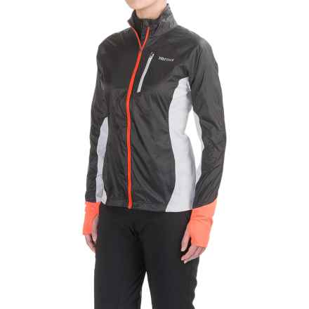 Marmot Dash Hybrid Jacket (For Women) in Dark Steel/Silver - Closeouts