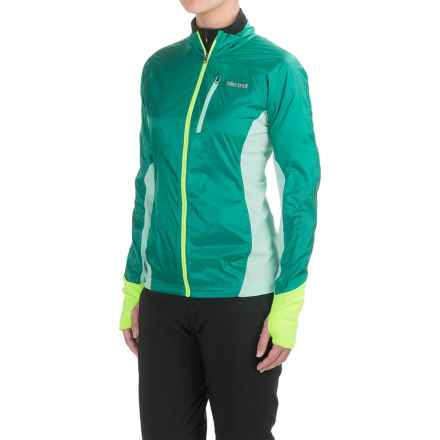 Marmot Dash Hybrid Jacket (For Women) in Gem Green/Ice Green - Closeouts