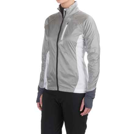 Marmot Dash Hybrid Jacket (For Women) in Silver/White - Closeouts