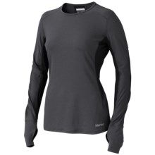 Marmot Dash Shirt - UPF 30, Long Sleeve (For Women) in Black - Closeouts