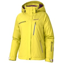Marmot Dawn Patrol Gore-Tex® Ski Jacket - Waterproof, Insulated (For Women) in Acid Yellow - Closeouts