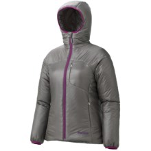 Marmot Dena Jacket - Insulated, Recycled Materials (For Women) in Gargoyle Grey - Closeouts