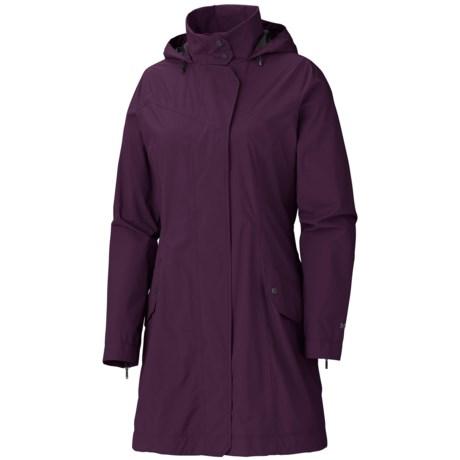 Marmot Destination Jacket - Waterproof (For Women) in Aubergine