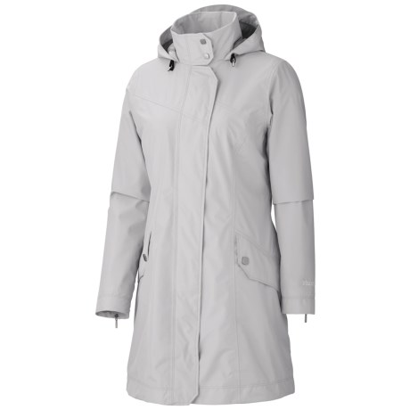 Marmot Destination Jacket - Waterproof (For Women) in Platinum