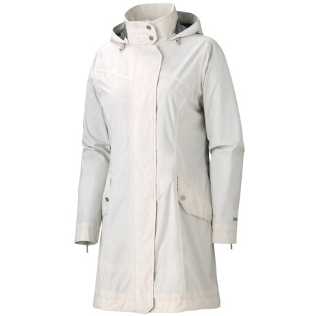 Marmot Destination Jacket - Waterproof (For Women) in Whitestone