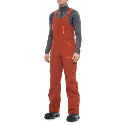 b6c801185854 Marmot Discovery Bib Overalls - Waterproof (For Men) in Dark Rust -  Closeouts