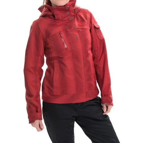 Marmot Diva Ski Jacket - Waterproof, Insulated (For Women) in Dark Crimson