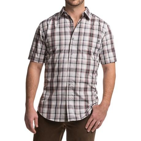 Marmot Dobson Shirt - UPF 50, Short Sleeve (For Men) in Slate Grey
