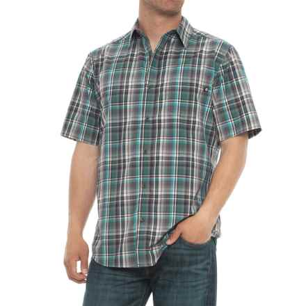 Marmot Dobson Shirt - UPF 50, Short Sleeve (For Men) in Steel Onyx - Closeouts