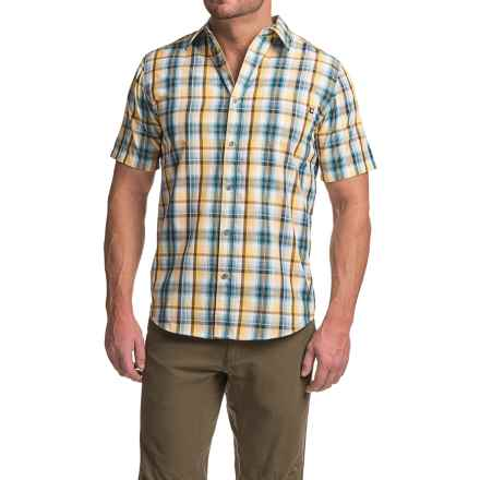 Marmot Dobson Shirt - UPF 50, Short Sleeve (For Men) in Vintage Navy - Closeouts