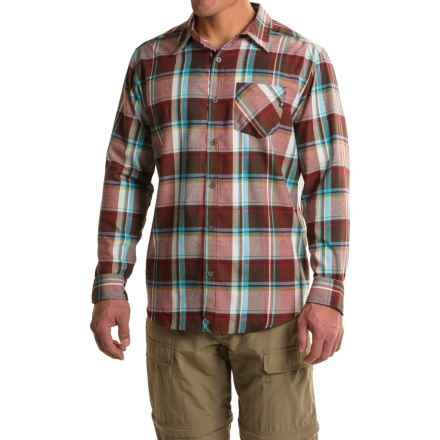 Marmot Doheny Flannel Shirt - UPF 50, Long Sleeve (For Men) in Brick - Closeouts