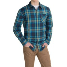 Marmot Doheny Flannel Shirt - UPF 50, Long Sleeve (For Men) in Dark Indigo - Closeouts