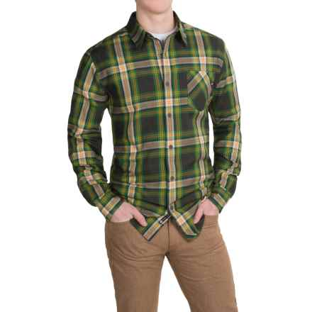 Marmot Doheny Flannel Shirt - UPF 50, Long Sleeve (For Men) in Greenland - Closeouts