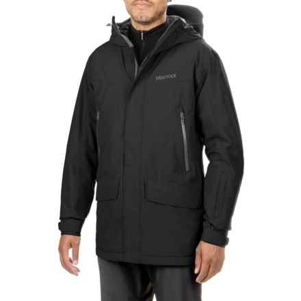 Marmot Doublejack Jacket - Waterproof (For Men) in Black - Closeouts