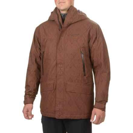 Marmot Doublejack Jacket - Waterproof (For Men) in Marsala Brown Peak - Closeouts