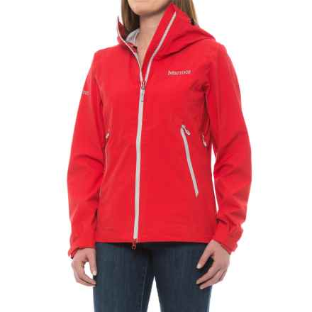 Marmot Dreamweaver Jacket - Waterproof (For Women) in Tomato - Closeouts