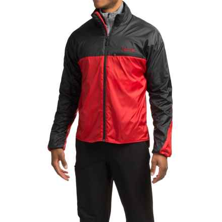 Marmot DriClime® Windshirt Jacket (For Men) in Team Red/Black - Closeouts