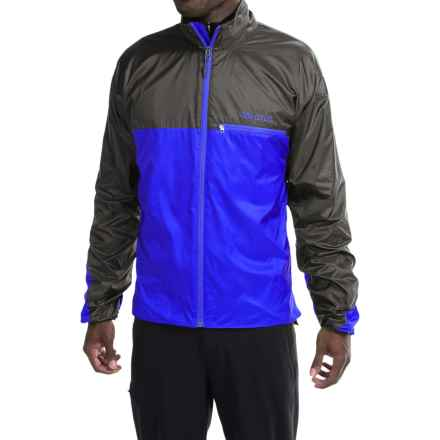 Marmot DriClime® Windshirt Jacket - Lightweight (For Men) in Cobalt Blue/Slate Grey - Closeouts