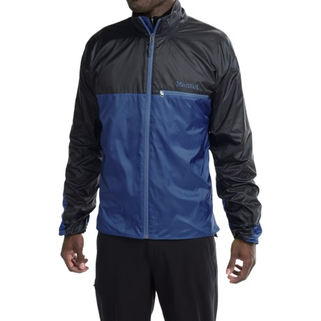 Marmot DriClime® Windshirt Jacket - Lightweight (For Men) in Fire/Black
