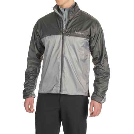 Marmot DriClime® Windshirt Jacket - Lightweight (For Men) in Steel/Slate Grey - Closeouts