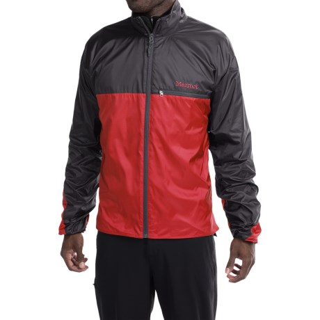 Marmot DriClime® Windshirt Jacket - Lightweight (For Men) in Team Red/Black