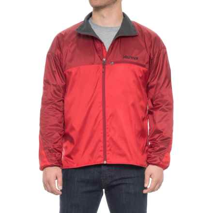 Marmot DriClime® Windshirt Jacket - Lightweight (For Men) in Team Red/Dark Crimson - Closeouts