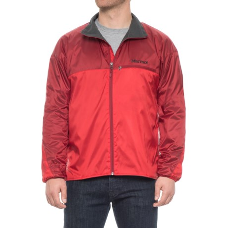Marmot DriClime® Windshirt Jacket - Lightweight (For Men) in Team Red/Dark Crimson