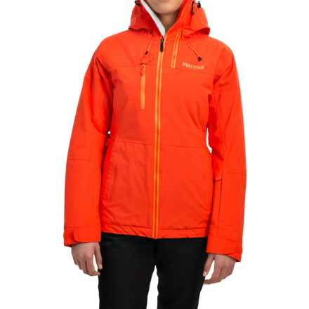 Marmot Dropway Ski Jacket - Waterproof, Insulated (For Women) in Coral Sunset - Closeouts