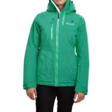 Marmot Dropway Ski Jacket - Waterproof, Insulated (For Women) in Green Garnet - Closeouts