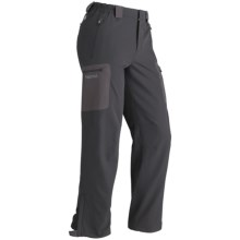 Marmot Durango Pants - Soft Shell (For Men) in Dark Granite - Closeouts
