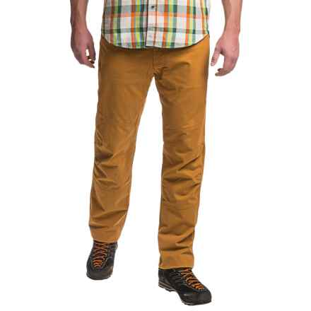 Marmot Echo Rock Pants (For Men) in Brown Mustard - Closeouts