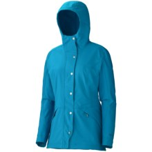 Marmot Eclipse Soft Shell Jacket (For Women) in Mosaic Blue - Closeouts