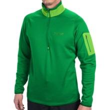 Marmot Eko Polartec® Power Stretch® Shirt - Zip Neck, Long Sleeve (For Men) in Dark Fern - Closeouts
