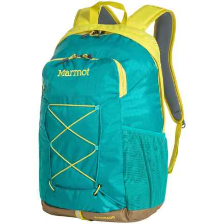 Marmot Eldorado Backpack in Green Spice/ Green Sea - Closeouts