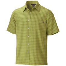 Marmot Eldridge Shirt - UPF 20, Short Sleeve (For Men) in Palm Green - Closeouts
