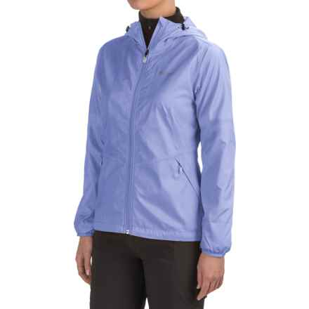 Marmot Ella Windstopper® Jacket - Hooded (For Women) in Pale Dusk - Closeouts