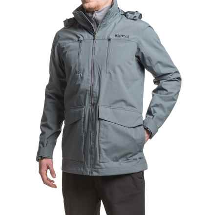 Marmot Elmhurst Jacket - Waterproof (For Men) in Steel Onyx - Closeouts