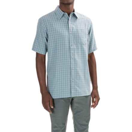 Marmot Elridge Shirt - UPF 20, Short Sleeve (For Men) in Blue Granite - Closeouts