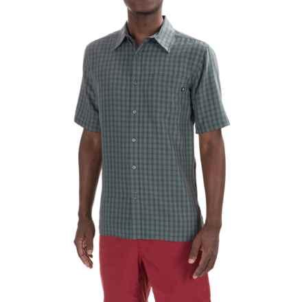 Marmot Elridge Shirt - UPF 20, Short Sleeve (For Men) in Dark Zinc - Closeouts