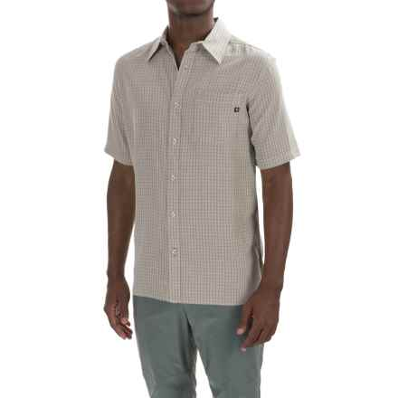 Marmot Elridge Shirt - UPF 20, Short Sleeve (For Men) in Moonstruck - Closeouts