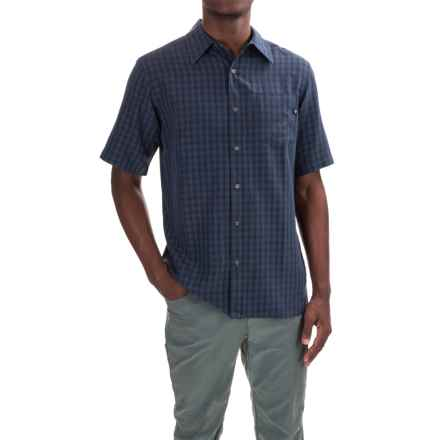 Marmot Elridge Shirt - UPF 20, Short Sleeve (For Men) in Vintage Navy - Closeouts