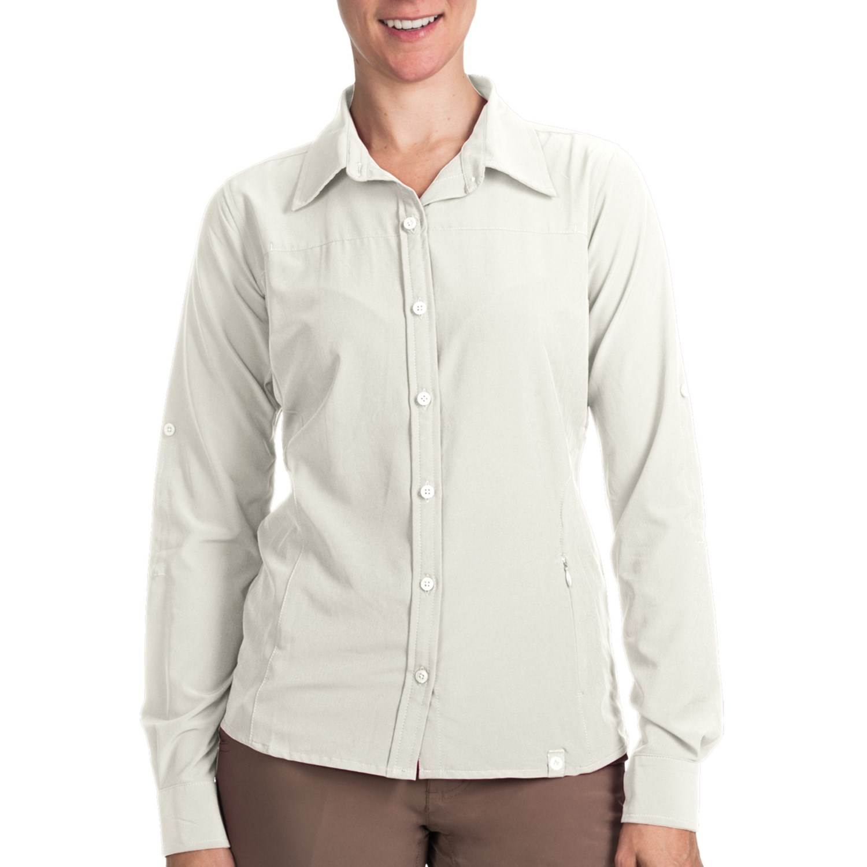 Marmot Erika Button-Front Shirt - UPF 50, Long Sleeve (For ...