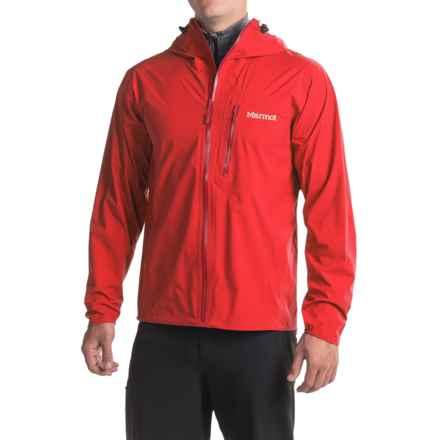 Marmot Essence Jacket - Waterproof (For Men) in Scarlet Red - Closeouts