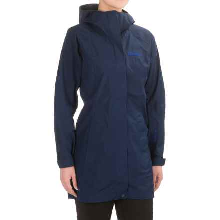 Marmot Essential Gore-Tex® Jacket - Waterproof (For Women) in Arctic Navy - Closeouts