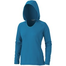 Marmot Essential Pullover - UPF 50, Long Sleeve (For Women) in Mosaic Blue - Closeouts